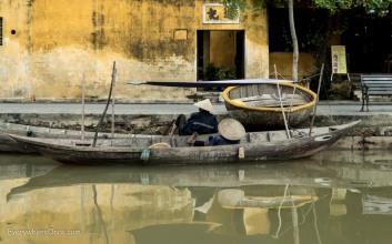 Hoi An, River Scene, Vietnam