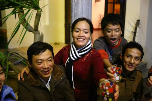 Madame Nhung and Her Family
