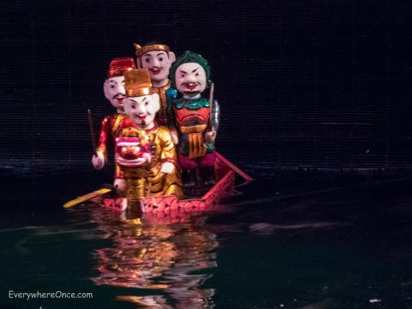 Water Puppet Show Hanoi Vietnam 2