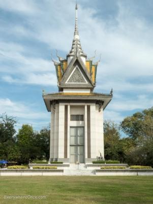 Cambodia Killing Field Choeung Stupa