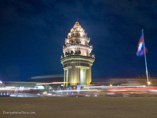 Independence Monument  Phnom Penh