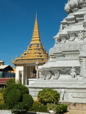 Royal Palace Silver Pagoda, Phnom Penh