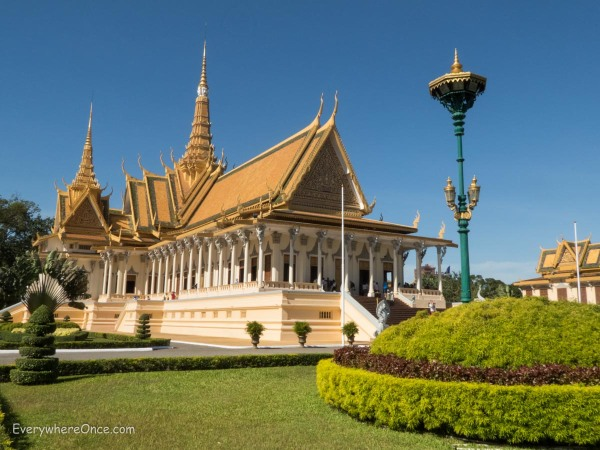 Royal Palace Throne Hall, Phnom Penh