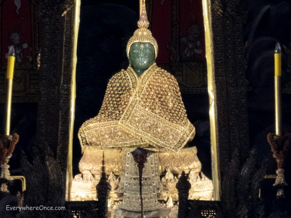 Emerald Buddha in the Grand Palace Bangkok