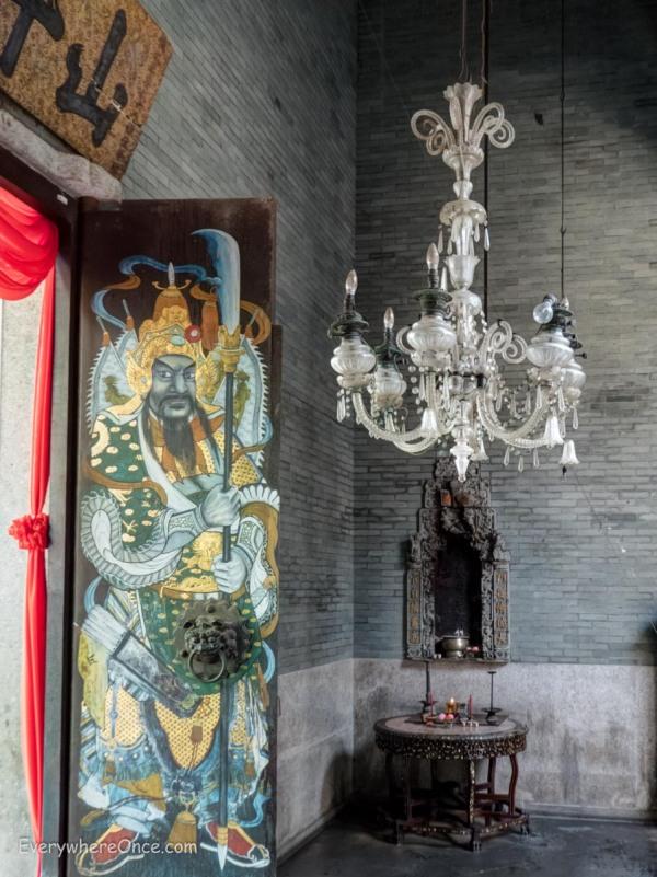 Pinang Peranakan Mansion Temple