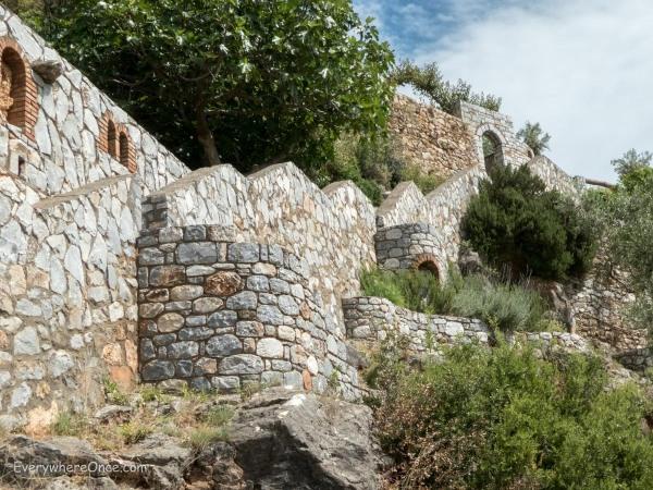 Stairway to Vardia Hotel Kardamyli, Greece
