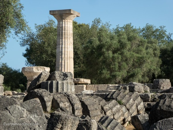 Temple of Zeus, Olympia, Greece