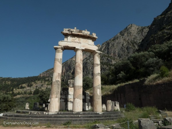 The Sanctuary of Athena, Delphi, Greece