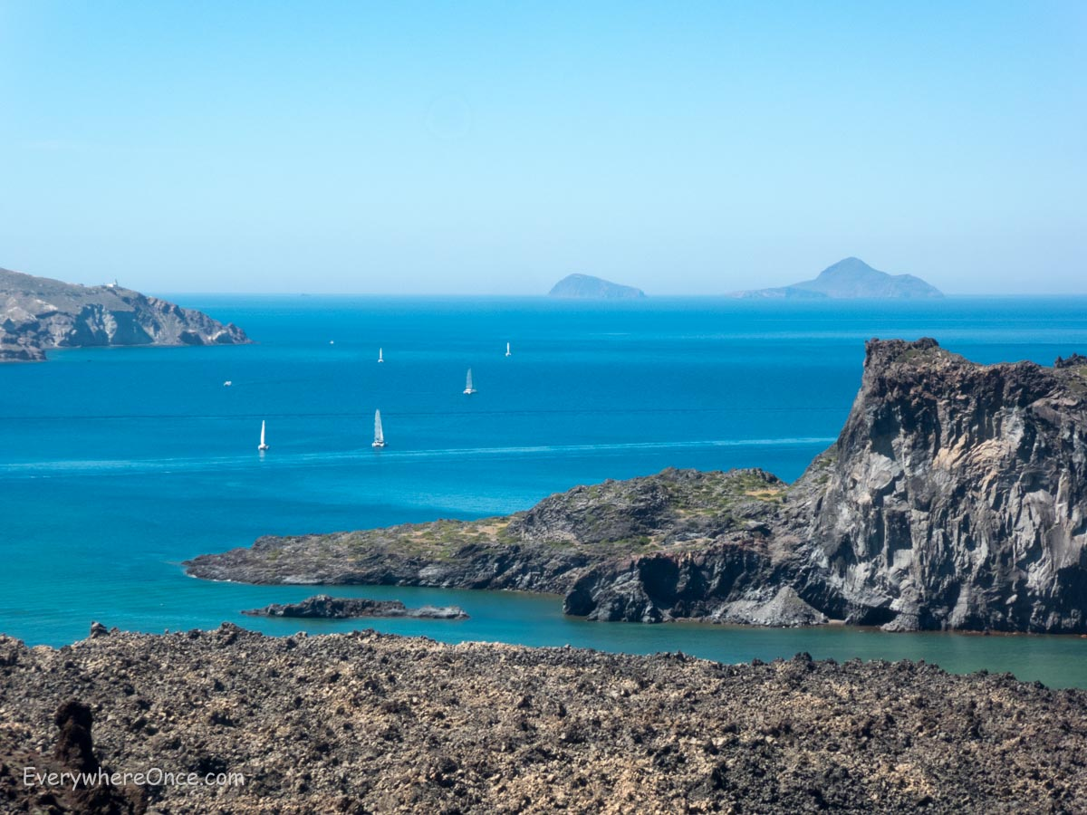 What To Do In Santorini Part 2 Get Out To Sea
