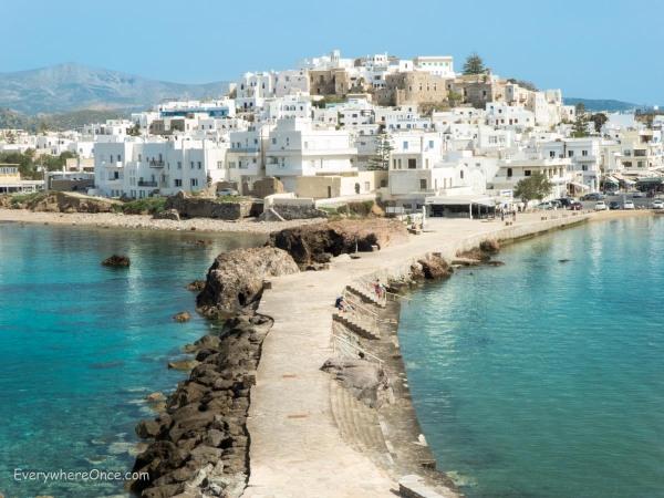 Naxos Greece Causeway