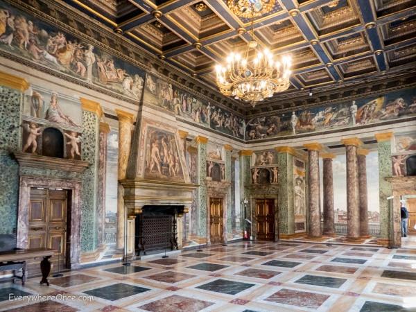 The Hall of Perspectives, Villa Farnesina, Rome