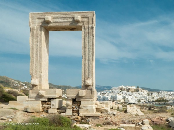 Portara Naxos Greece