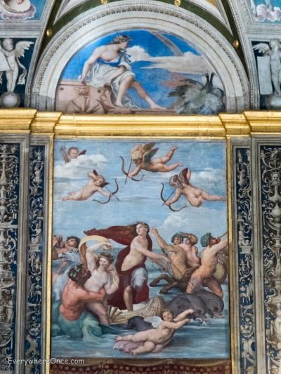 Raphael The Triumph of Galatea