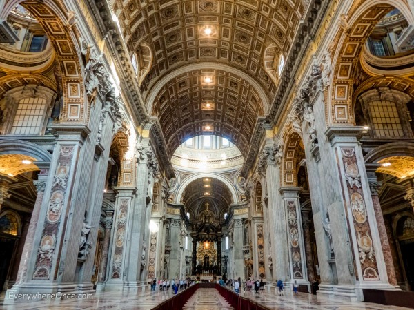 Saint Peters Basilica Nave