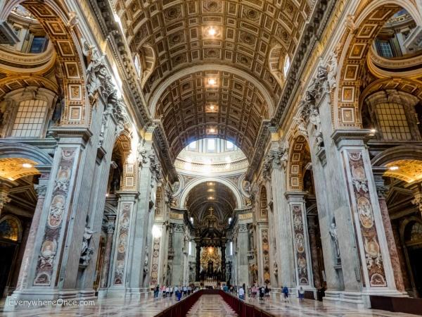 Saint Peters Basilica Nave