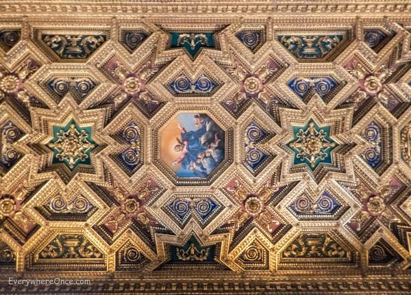 Santa Maria in Trastevere Ceiling, Rome