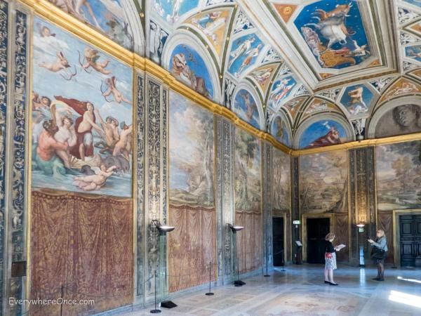 The Loggia Villa Farnesina, Rome