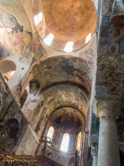 Mystras, Greece, Church Fresco