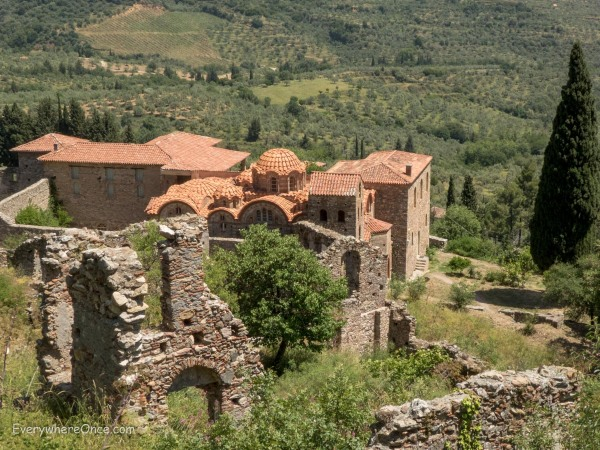 Mystras Ruins, Greece