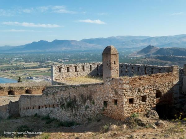 Nafplio Greece Fortress