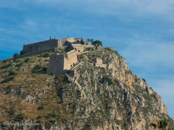 Palamidi Fortress, Nafplio, Greece