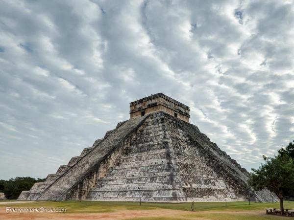 Kukulcán Pyramid, Chichen Itza, Mexico