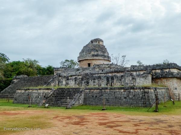 El Caracol observatory temple Chichen Itza, Mexico