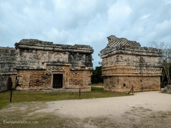 Las Monjas, The Nunnery, Chichen Itza, Mexico