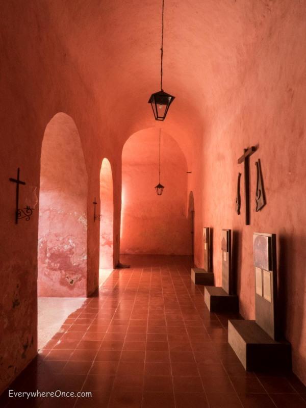 Convento de San Bernardino de Siena, Valladolid, Mexico