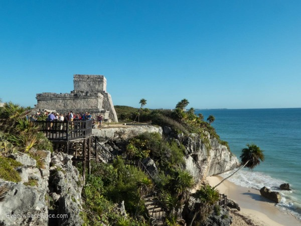 Tulum Ruins on the Coast