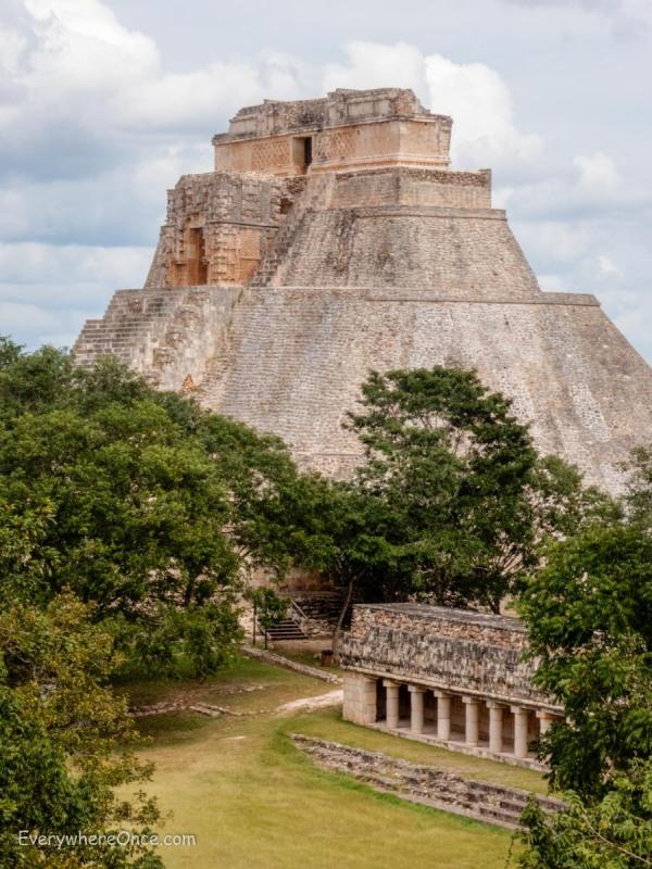 Uxmal Mayan Ruins Mexico